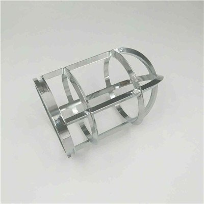 Aluminum Alloy Al-cu4Ti Lamp Housings for Parks, Plasma Polishing