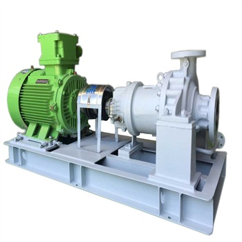 API685  Horizontal Overhung Centerline mounted High-Temperature Sealless Magnetic Drive Pump