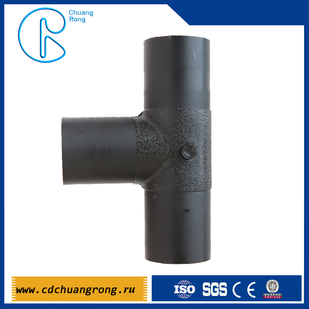 Butt fusion fittings for water supply,Tee,reducer, elbow, flange Dn20-1200mm