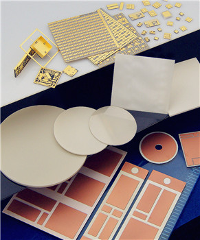 ALN / Alumina substrates  for semiconductor laser diodes and photodiodes