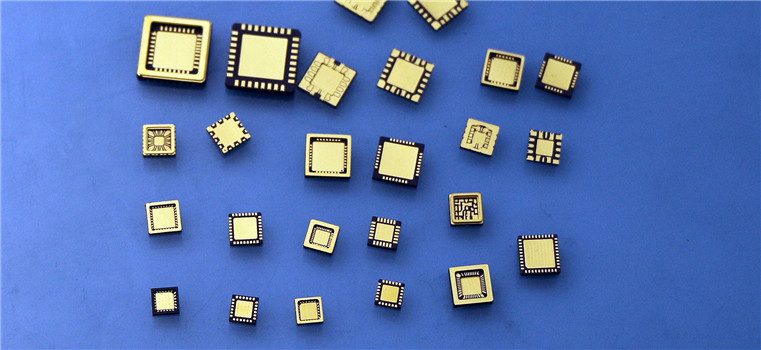 Custom-Designed Ceramic Packages and Optical Filters for Image Sensors