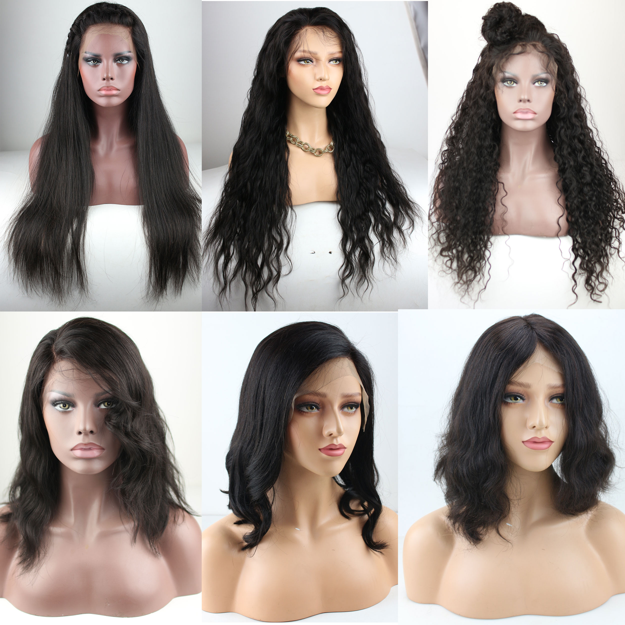 Bob Lace Front Wigs Human Hair Cheap Bob Wigs For Black Women Middle Part Lace Front Wigs Bob Brazilian Vrigin Hair