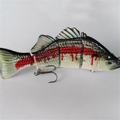 Four Section 5.5 Inch Bass Lure