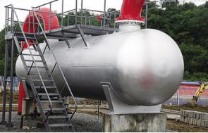 DN1000 High strength alloy steel sulfur separator DN1000