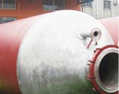 High strength alloy steel 100 cubic meters butadiene storage tank