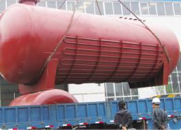 DN2600 High strength alloy steel hydrogen fluoride storage tank