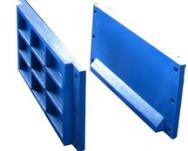 High strength alloy steel cast iron template