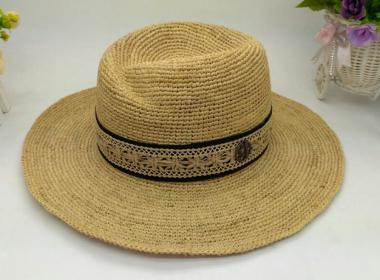 new trendy european style women summer raffia straw hat