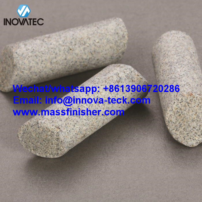Ceramic deburring media – RMB/D1 polishing abrasive