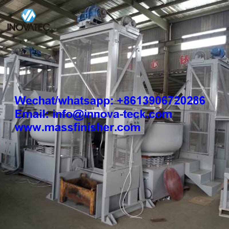 Automatic Vibratory finishing machine production line