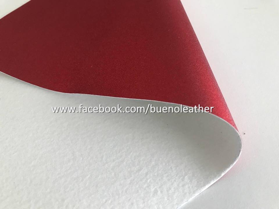 BUENO Metalic Mylar PU Leather for Shoes Upper
