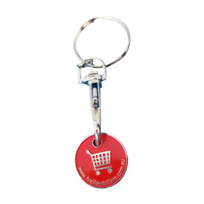 Cheap ShoppingcCart Trolley Coin Key Ring