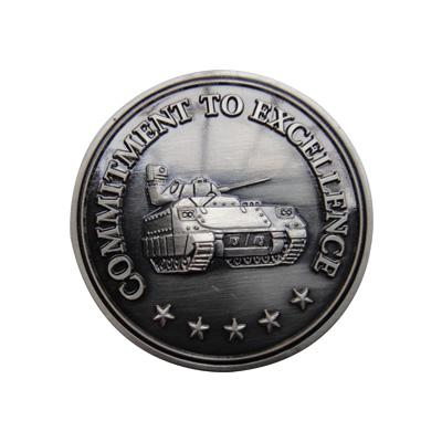 Professional Commitment To Excellence Challenge Coins