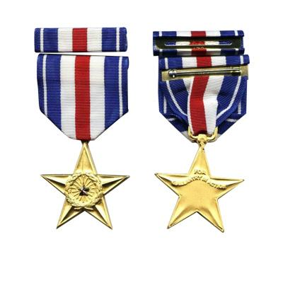 Gold Star Awards Military Medals