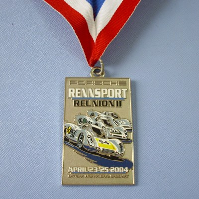 Neck Lanyard Racing Car Medals