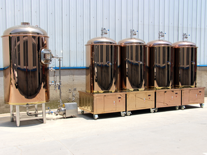 Professional SUS304 mini beer factory with CE certificate