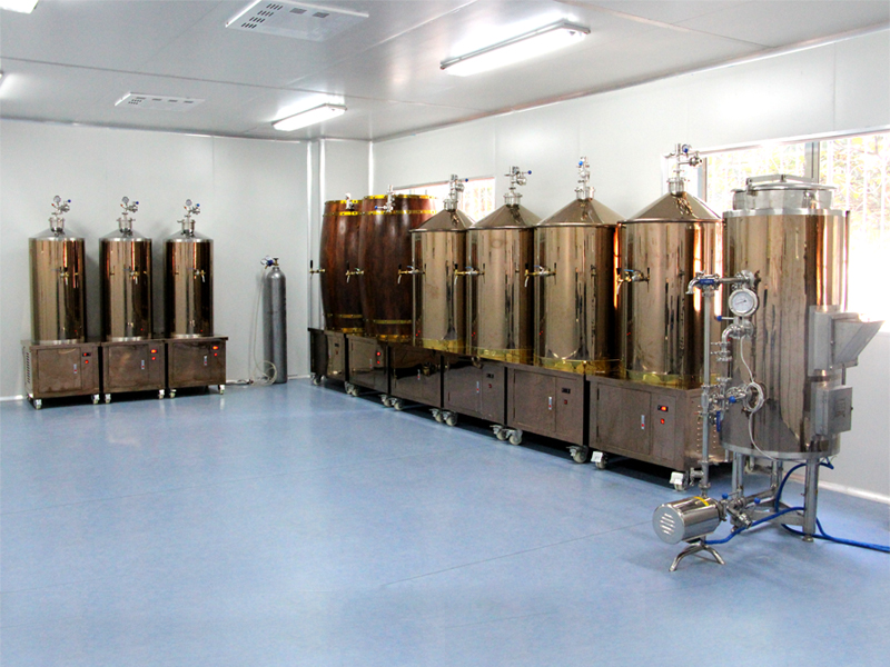 New design beer brewery equipment conformance to USA standards