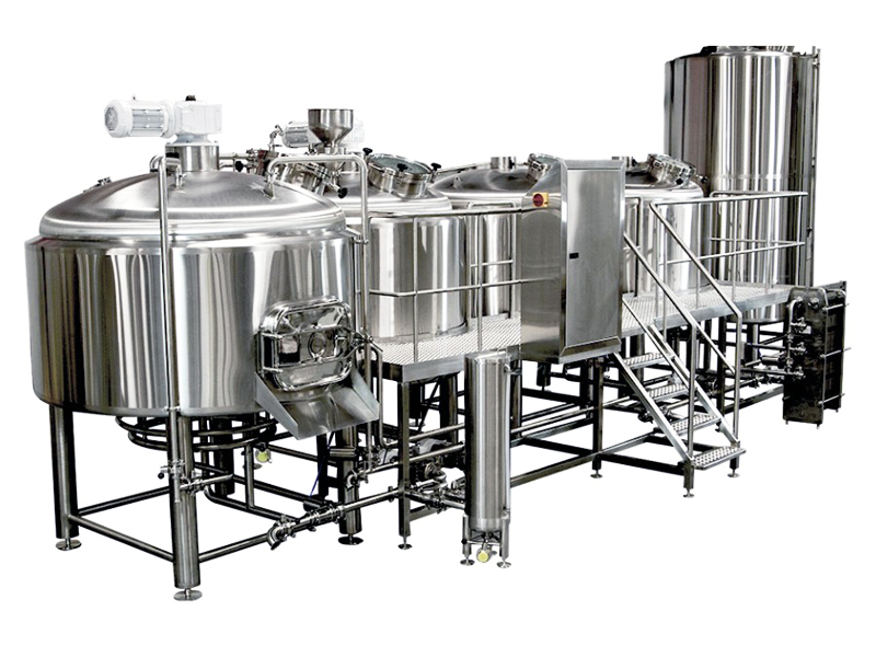 Daily output SUS304 beer brewing system suitable for hot pot restaurant
