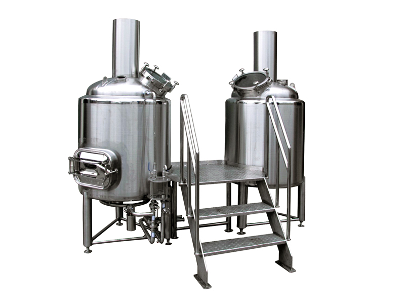 Day output SUS304 beer brewery equipment useful for hotel