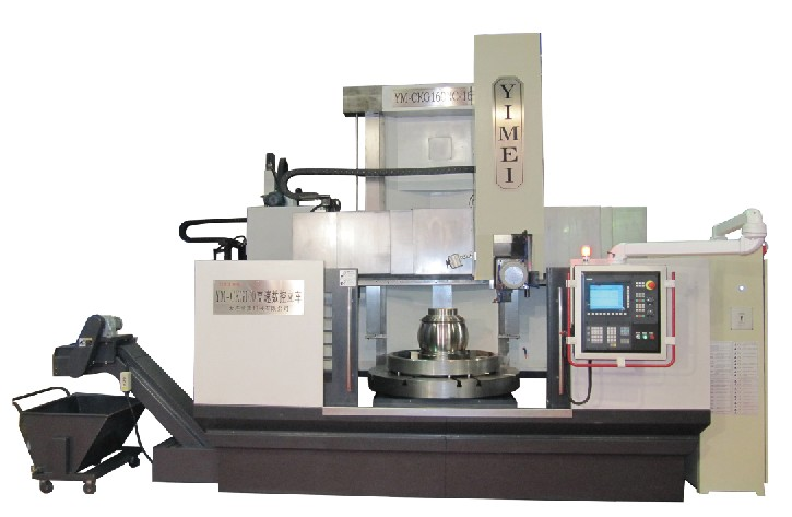 YM-CKG125 CNC High speed Vertical Turning lathe