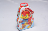 Special shape toy metal tin box with handle