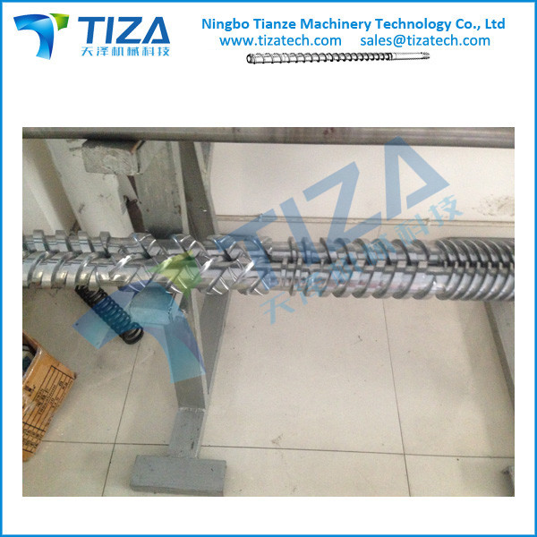 Screw & Barrel for Plastic Pipe Extrusion Machines