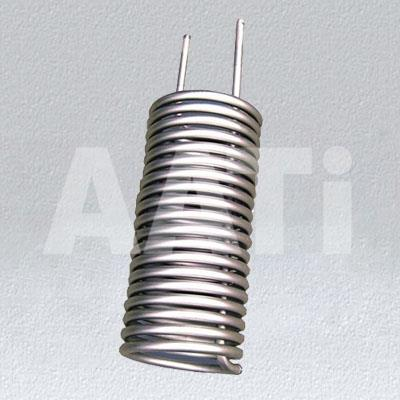Ti/ Titanium Heating Coils With Material ASTM Gr1, Gr2