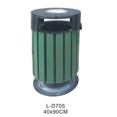 Promotional Outside Public Wood WPC Dustbin Trash Bin Litter Bins