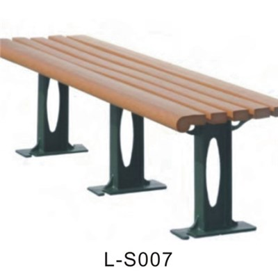 UV Protection WPC Wood Bench With High Quality