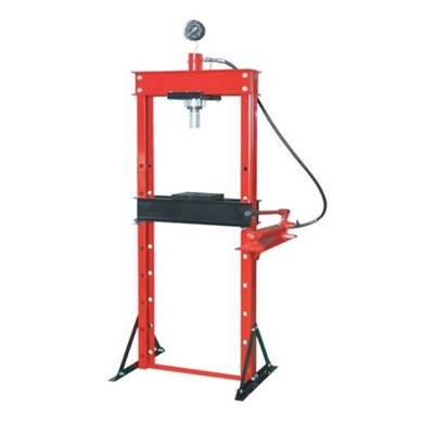 Manual Hydraulic Shop Press Used in A Shop or Garage for Different Pressing Work Application