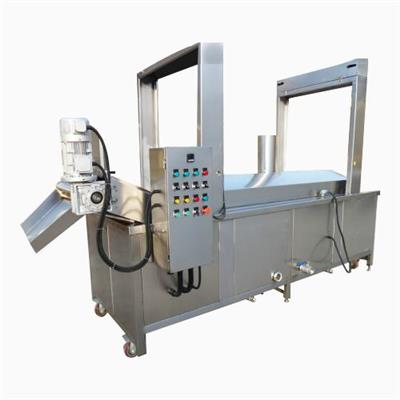 High Output Stainless Steel Commercial Automatic Potato Chips Frying Machine For French Fries
