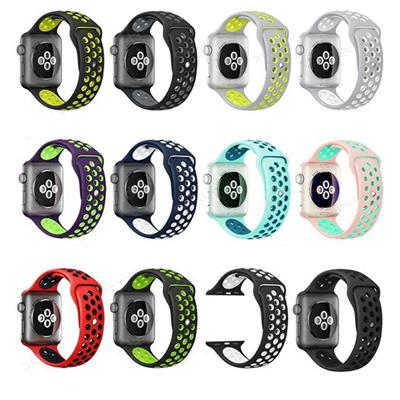 Silicone Aluminum Case Nike Sport Band For Apple Watch Series 1, Sport Bands Link Wrist For Apple Watch Series 2