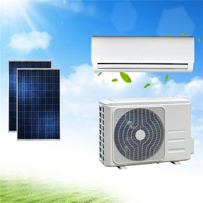 ACDC Solar Air Conditioner Multi Head Type For Villa Money-Saving