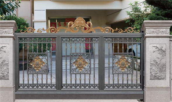 factory price aluminum residential sliding gates for sale