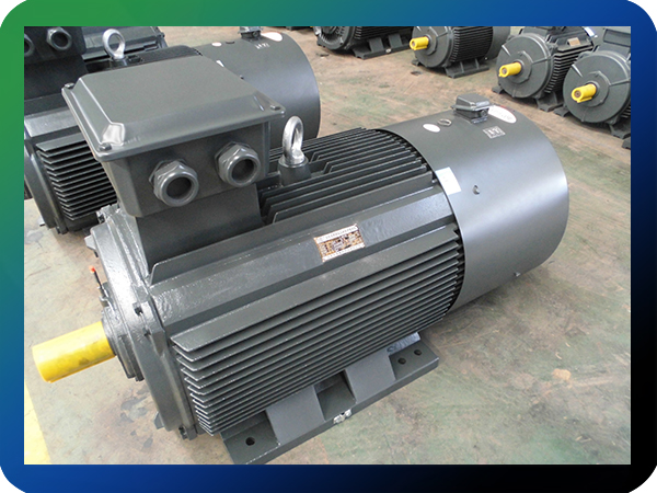90KW 400V variable frequency electric motor for brick machine