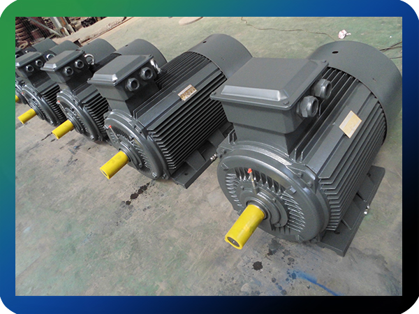 IE2 90KW 440v 60hz efficiency grade AC motor IMB3