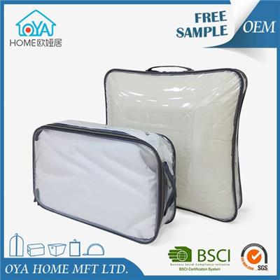 Large Plastic Storage Bags With Zipper For Clothes Storage