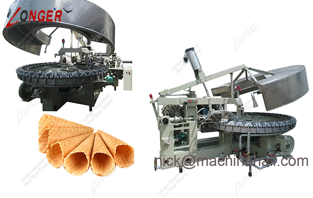 ICE CREAM CONE MACHINES 2100PCS/H