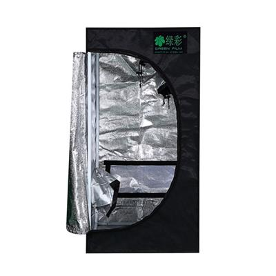 Green Fllm Complete 100% Top Friendly PEVA Indoor Hydroponic Grow Tent With 210D Fabric/mylar/steel/50x50x100cm