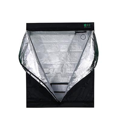 Green Fllm 100% Top Friendly PEVA Reflective Marijuana Grow Tent Indoor Material With 210D Fabric/mylar/steel/120x60x150cm