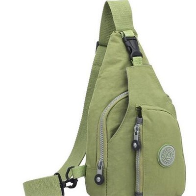 Women Casual Chest Pack Unbalance Backpack Hiking Sport Sling Bag