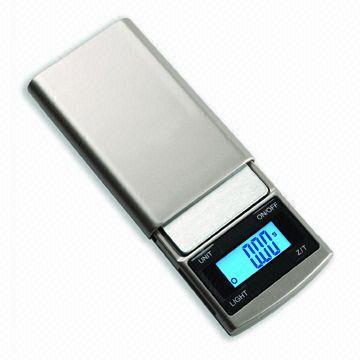 Slim Digital Pocket Scale With Counting Featureby 0.01g