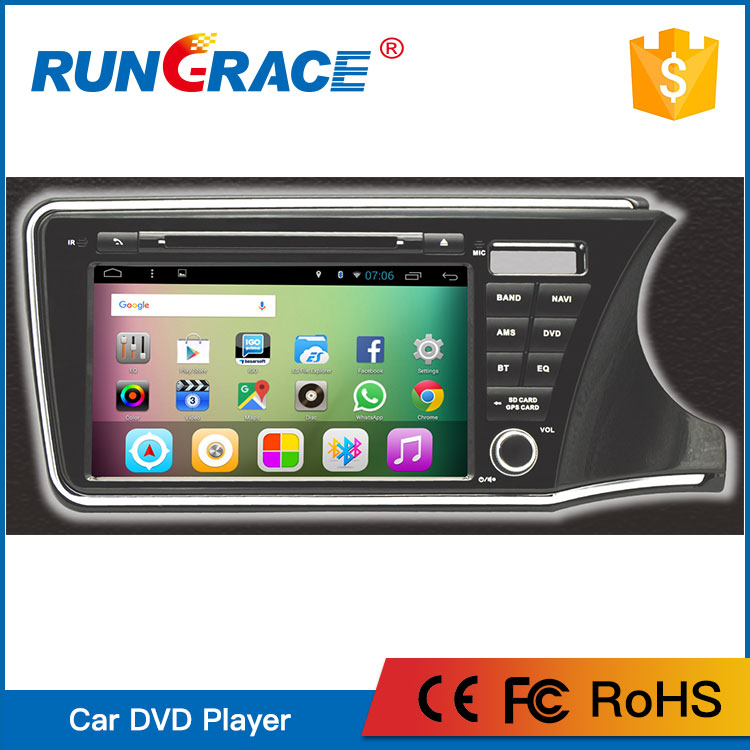 9'' Android 6.0 Car GPS Navigation for For Honda City