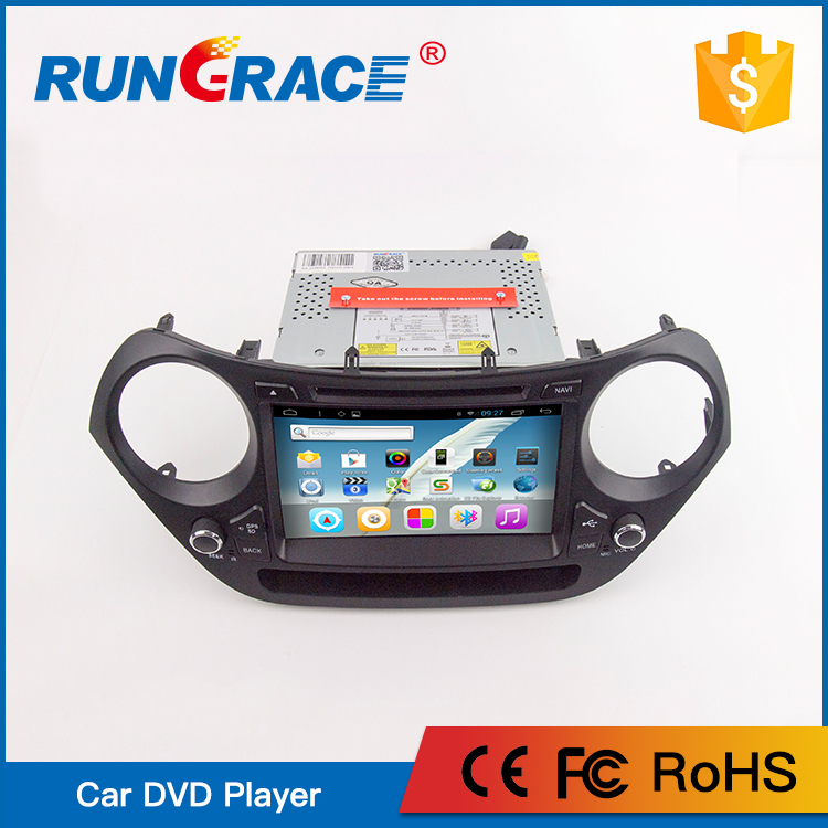 CHINA RUNGRACE double din car cd player For Hyundai i10