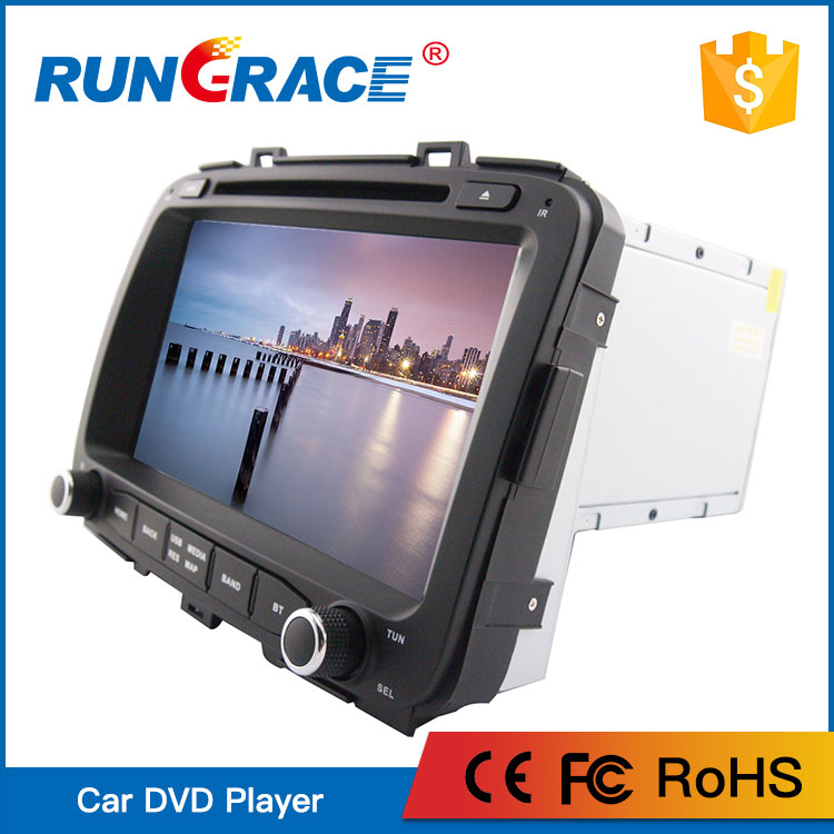 CHINA Manufacturer 8 inch android 6.0 Multimedia car audio For KIA Carens