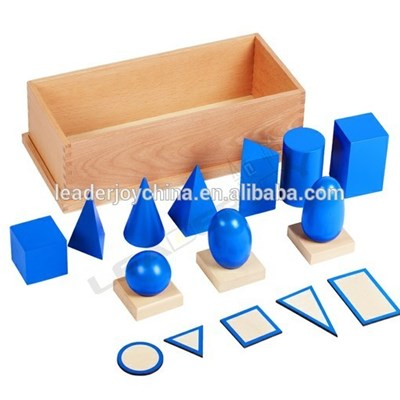 Montessori Wooden Sensory Educational Toys , Montessori Materials In China