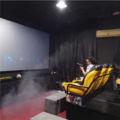4 / 6 / 8 / 9 Seats Interactive 7D Cinema Simulator 7D Theater With Shooting Guns