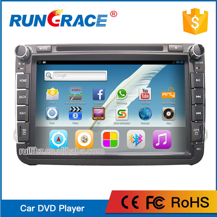 NEW 8'' Android 6.0 with Radio Bluetooth Wifi Car radio For VW