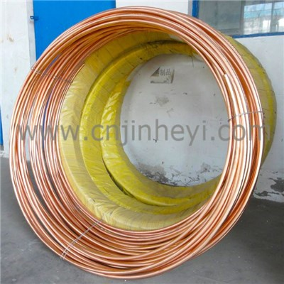 Continuous Casting Copperweld Clad Steel Electrical Grounding round Wire | Cable | Lightning Conductor