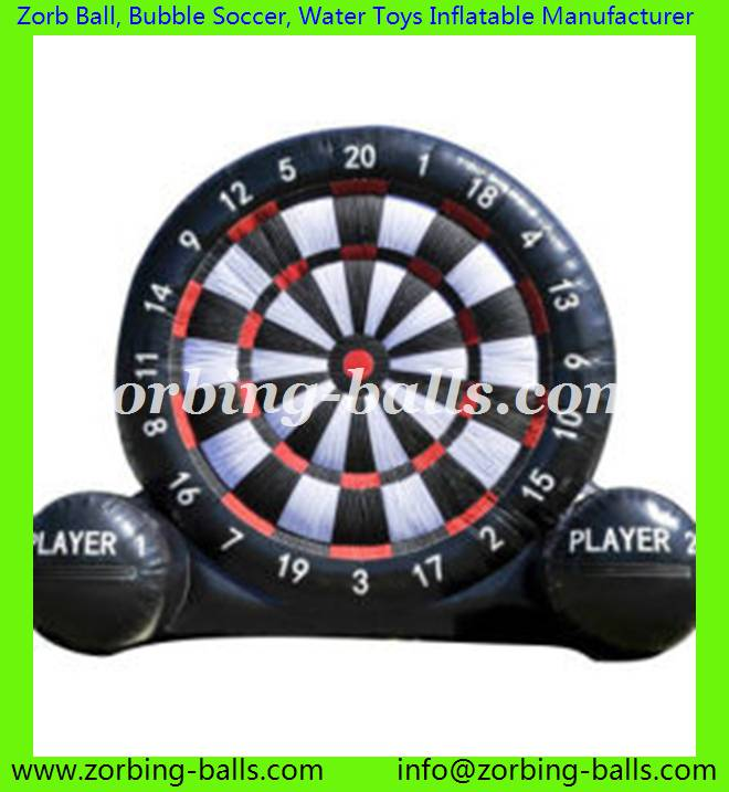 Inflatable Foot Darts Football Dart Board Soccer Games Vano Inflatables